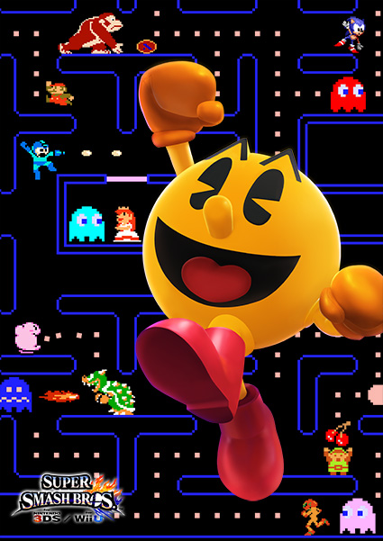 pac-man-smash-bros-poster-8-bit