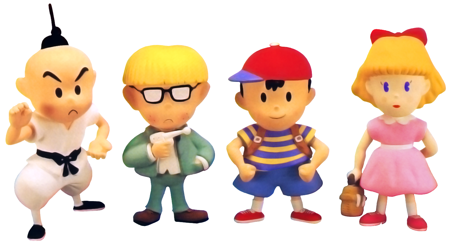earthbound-chosen-four-clay-models