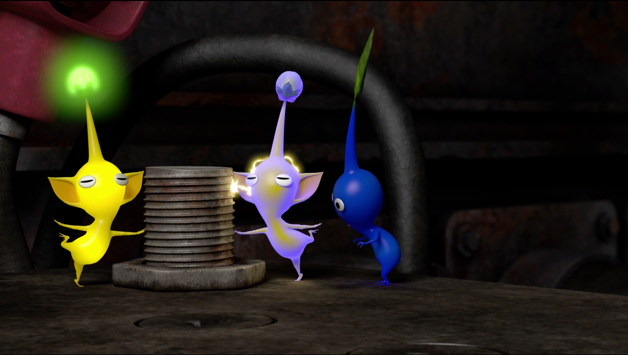 Pikmin Short Movies Re... Object Heads