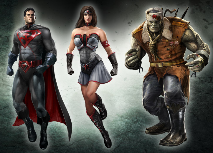 injustice-red-son-skin-pack
