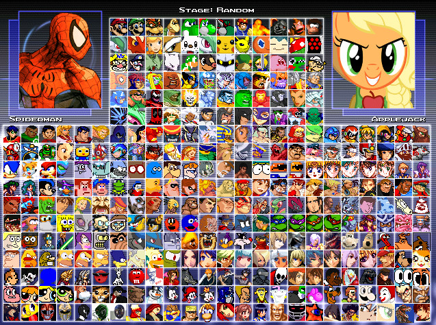Secure Softwares Archive: EVE MUGEN ROSTER 700+ CHARACTERS